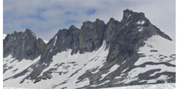 Gletscher schmelzen in hohem Tempo weiter