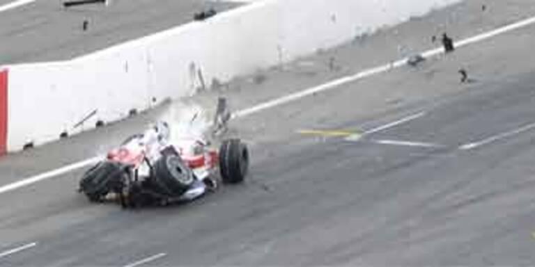 Glock-Unfall überschattet Hamilton-Triumph