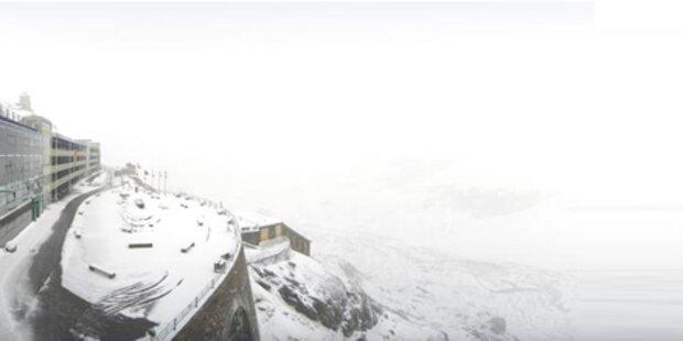 Eisheilige bringt Regen, Schnee & Kälte
