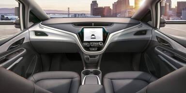 GM bringt Robo-Autos ohne Lenkrad
