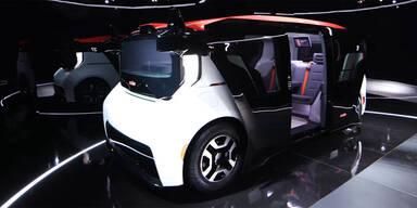 GM zeigt Robo-Auto ohne Lenkrad & Pedale