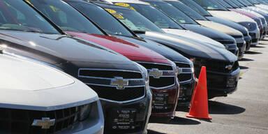Mehr Auto-Rückrufe als Verkäufe