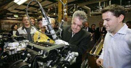 GM Austria produzierte 10-millionsten Motor
