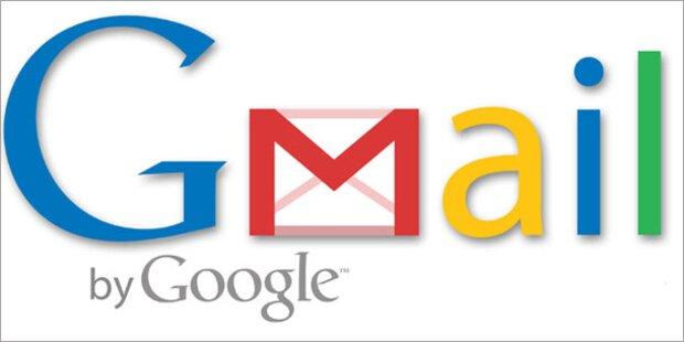 Googles Maildienst heißt jetzt auch hier GMail