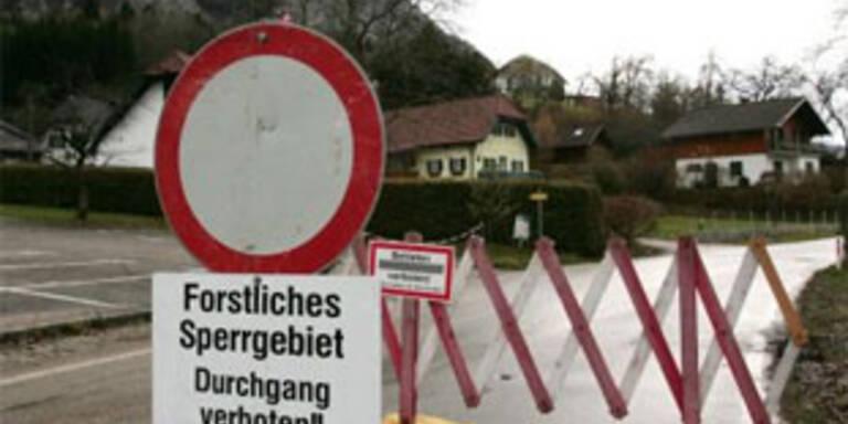Weitere Entlastungsbohrungen in Gmunden