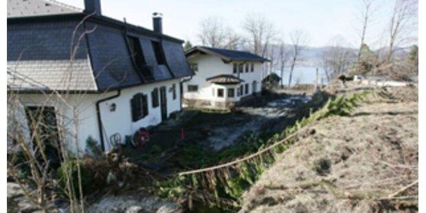 Erste Bewohner kehren in Häuser in Gmunden zurück