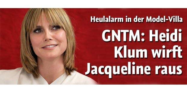 Heidi Klum wirft Jacqueline raus