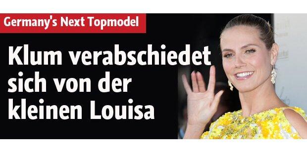 Klum verabschiedet sich von Louisa