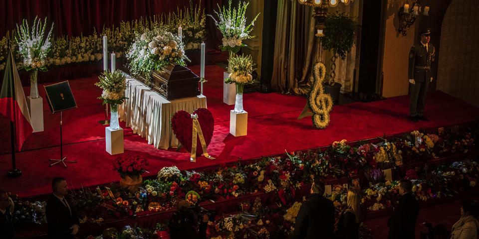 Karel Gott Begräbnis