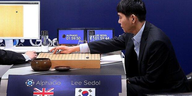 AlphaGo siegte auch im zweiten Match