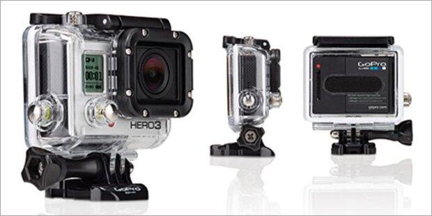 Die neue GoPro Hero 3 im Test - mit Video