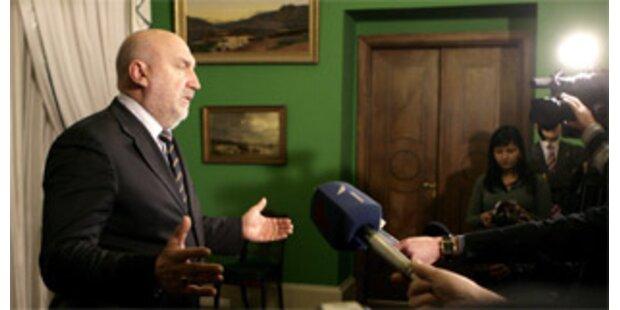 Lettischer Premier Godmanis tritt zurück