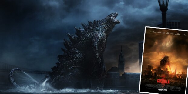 Godzilla zerstört immer noch Städte