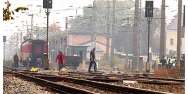 Drei Tote bei Unfall im Bahnhof Götzendorf