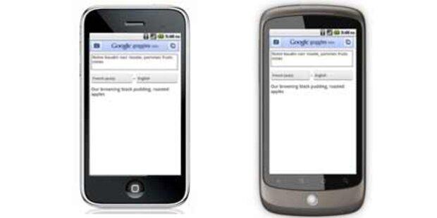 Goggles fürs iPhone & Like.com-Übernahme