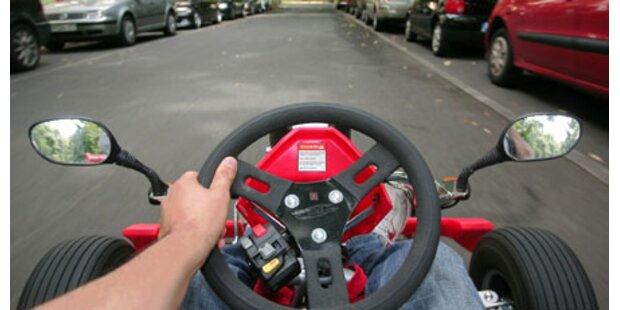Haftstrafen für Go-Kart-Bande