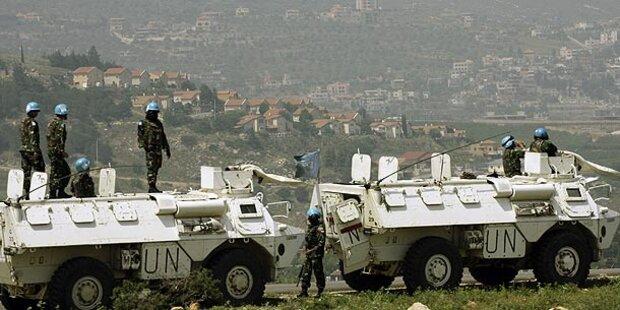 Zwei Raketen schlagen auf Golanhöhen ein