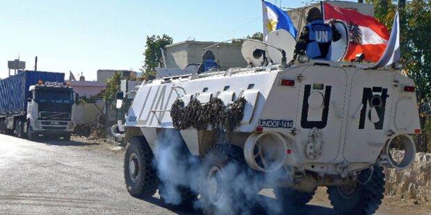 Bangen um Österreichs Soldaten am Golan