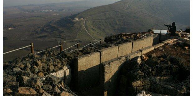 Tödliche Schießerei auf Golanhöhen