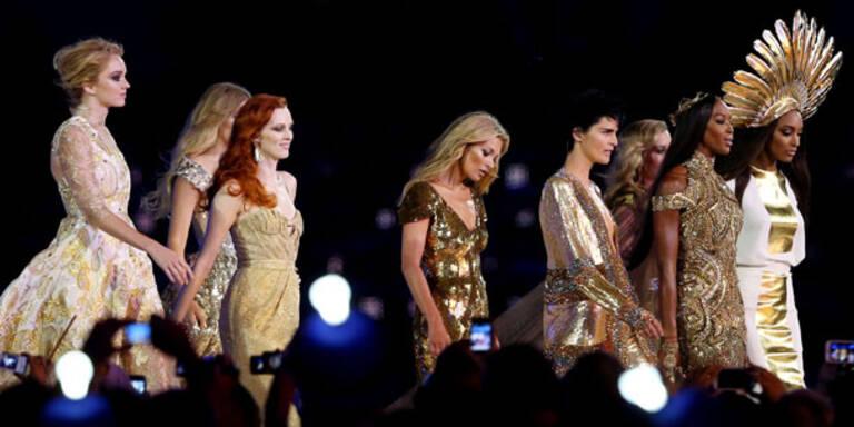 Olympia-Finale: Gold für Supermodels