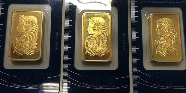 34-Jähriger wollte gefälschte Goldbarren verkaufen