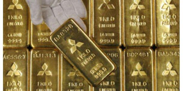 Goldpreis steigt wieder auf Rekordhoch