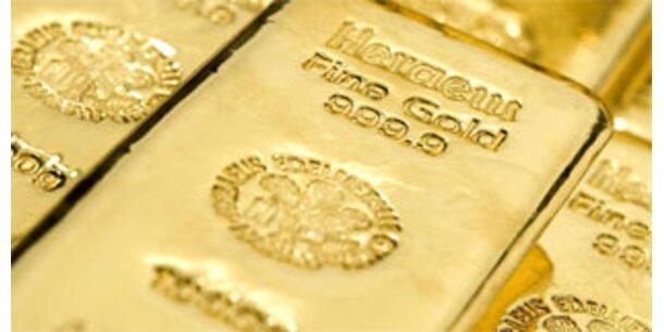 Gold wird in Deutschland knapp