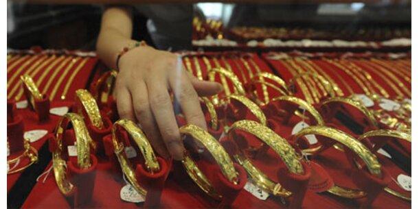 Goldpreis setzt Höhenflug fort