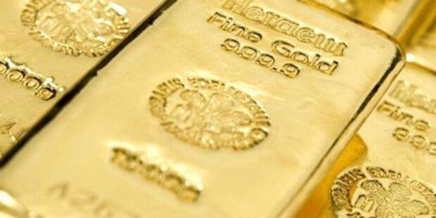Goldpreis auf Drei-Monats-Hoch