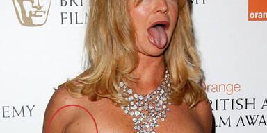 Goldie Hawn: Grusel-Auftritt in London