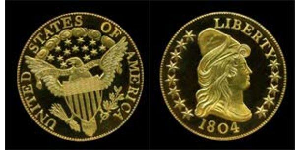 Fünf Millionen Dollar für alte US-Goldmünze