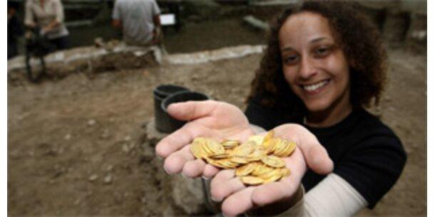 Forscher finden 264 byzantinische Goldmünzen