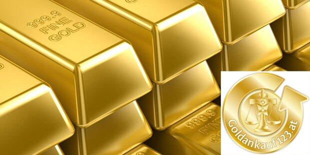 Gewinnen Sie einen von zehn Gold-Barren (20g)