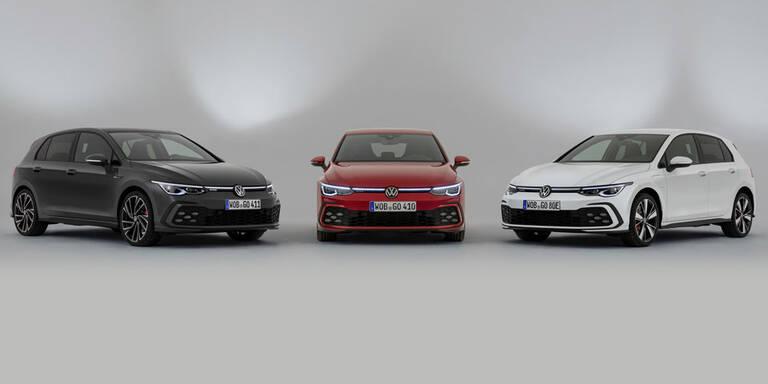 Alle Infos zu VW Golf 8 GTI, GTD und GTE