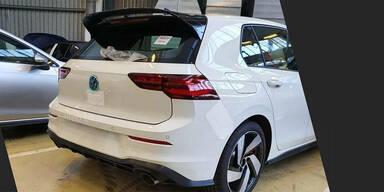 Fotos und Daten vom VW Golf 8 GTI aufgetaucht