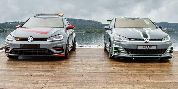 VW zeigt zwei scharfe Golf-Modelle