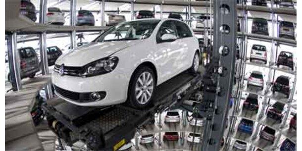 VW versetzt Arbeiter wegen Golf-Booms