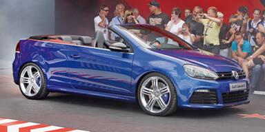 Golf R Cabrio Concept beim GTI-Treffen 2011