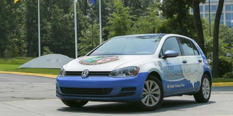 VW Golf TDI erzielt Verbrauchsrekord