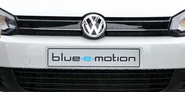"""Alle Infos vom VW Golf  """"blue-e-motion"""""""