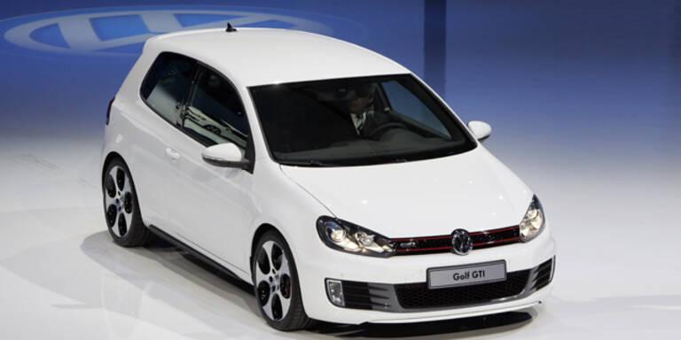 Neuer Golf GTI am Pariser Autosalon