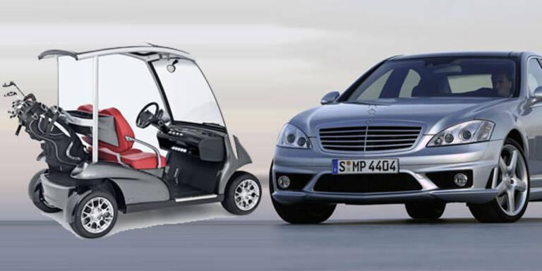 Preise für Golf-Wagen erreichen 200.000 Euro