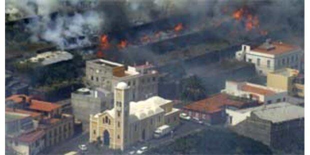 Katastrophale Brände auf La Gomera