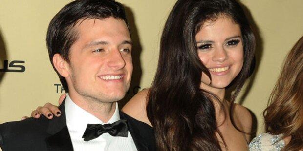 Gomez: Sexy Flirt mit Josh Hutcherson