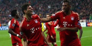 2:1 - Bayern biegen Real Madrid