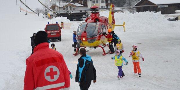 200 Urlauber mit Heli gerettet