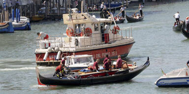 Gondel-Unfall bei Rialtobrücke - Tourist tot