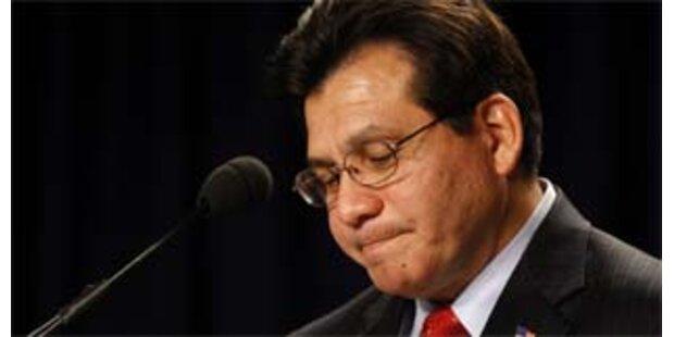 US-Justizminister Gonzales tritt zurück