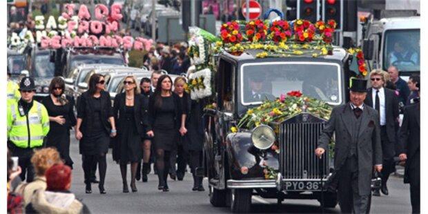 Bewegende Trauerfeier für Jade Goody
