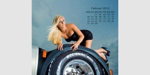 Making of: Goodyear-Kalender 2012